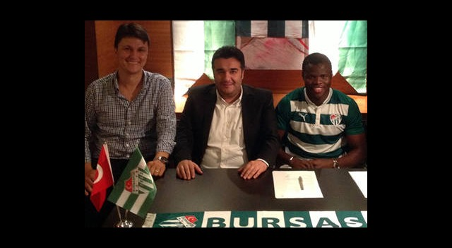 Taye Taiwo Bursaspor'da