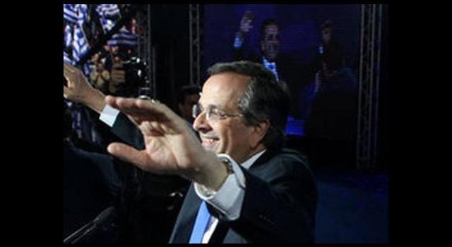 Samaras, son mitingini yaptı