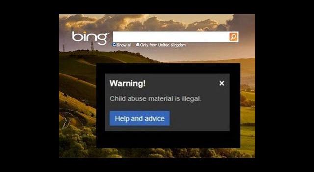 Bing Yasa Dışı Aramalara Karşı Uyaracak