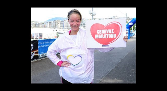 Bade Cenevre Maratonu'nda Koştu