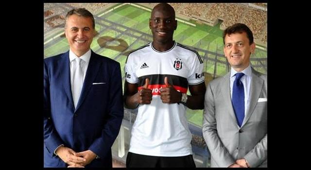 Demba Ba Beşiktaş'a hayırlı olsun