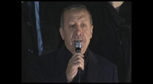 Başbakan Erdoğan Halka Hitap etti
