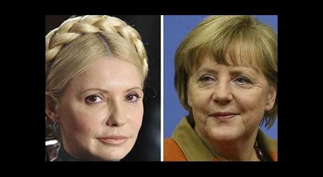 Merkel'den Timoşenko'ya davet