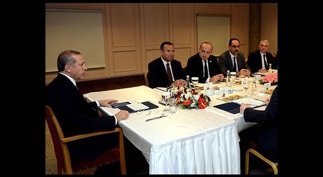 Erdoğan, Irak Türkmen Cephesi ile Görüştü