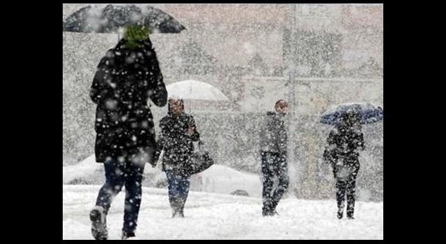 Dikkat Bu İllere Kar ve Fırtına Uyarısı Var
