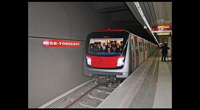 Başkent yeni metro hattına yarın kavuşuyor