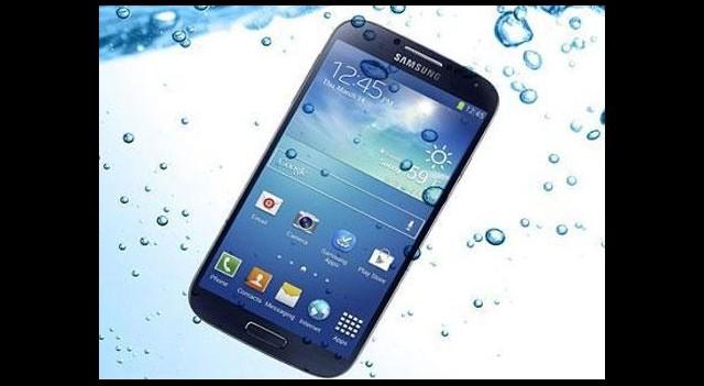 Samsung'un yeni telefonu su geçirmez olacak!