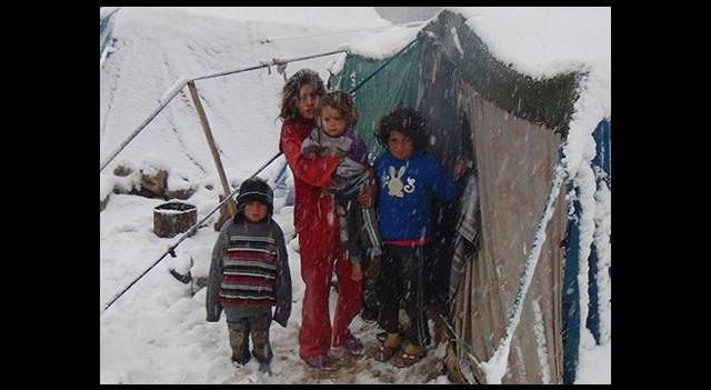 Suriyede 16 Çocuk Donarak Öldü