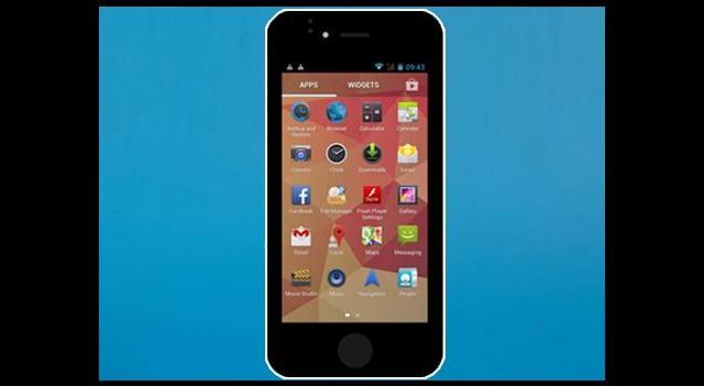 Androidli iPhone 5C! İoPhone5