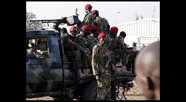 ABD Güney Sudan'a Asker Gönderdi