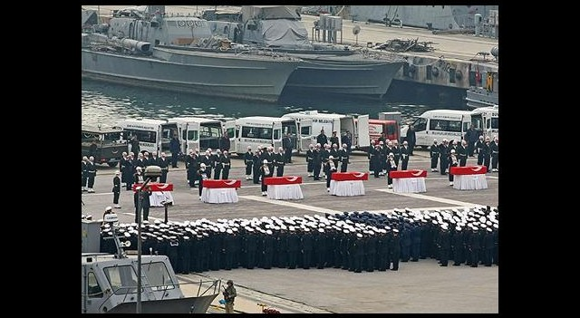 'Römorkör' Şehitleri için Askeri Tören