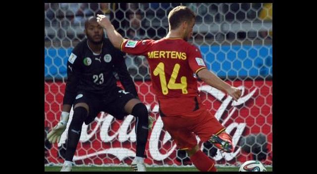 Belçika ikinci yarıda açıldı (Belçika - Cezayir maçının golleri)