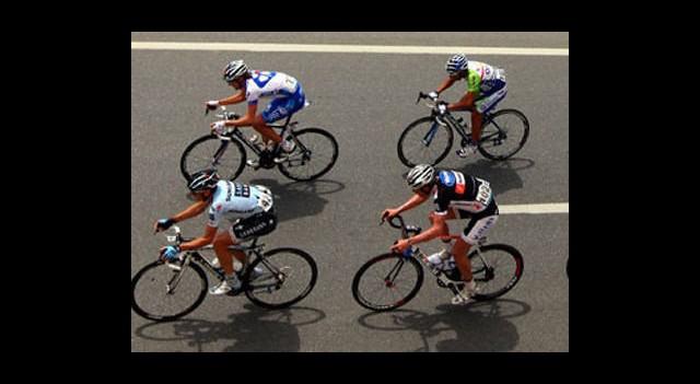 Bisiklet Turu'nda Heyecan Sürüyor