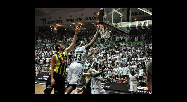 Beşiktaş Milangaz:96 Fenerbahçe Ülker:94