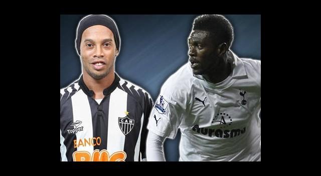 Ronaldinho ve Adebayor Geliyor