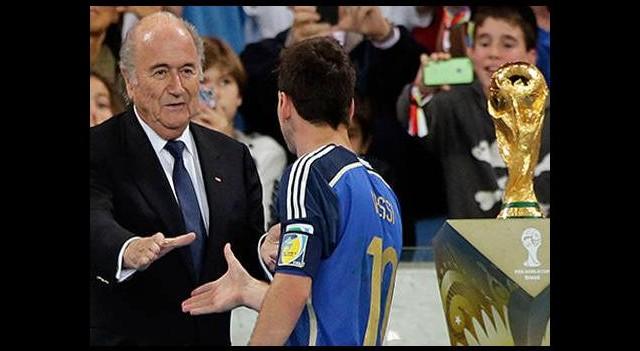 'Messi'yi görünce şaşırdım'