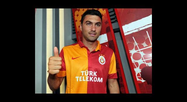 Burak Yılmaz, Galatasaray'da İlk Antrenmanına Çıktı