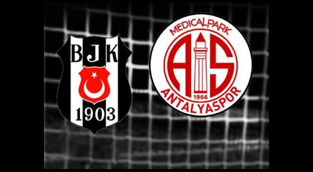 Beşiktaş-MP Antalyaspor (Canlı Anlatım)