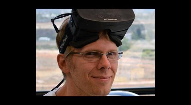 John Carmack, Oculus Rift Ekibine Dahil Oldu