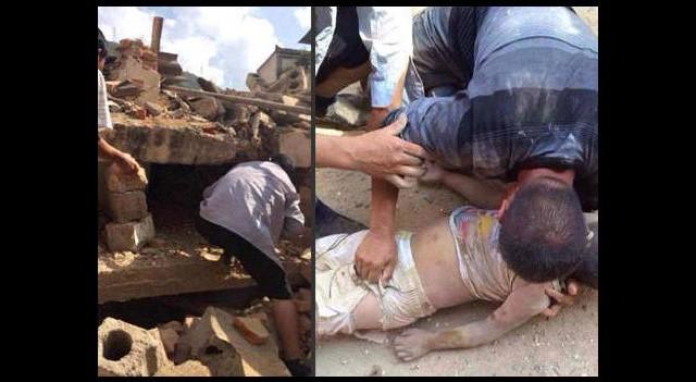 Çin'de korkunç deprem! Ölü sayısı...
