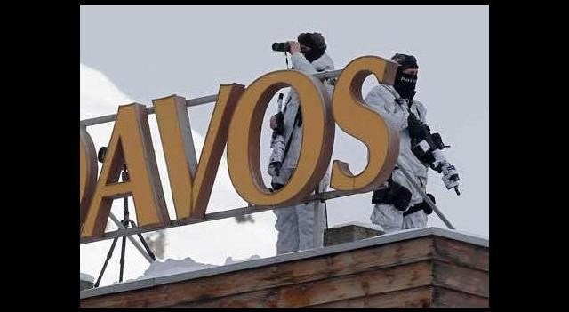 Davos'ta liderlere yoğun güvenlik önlemi