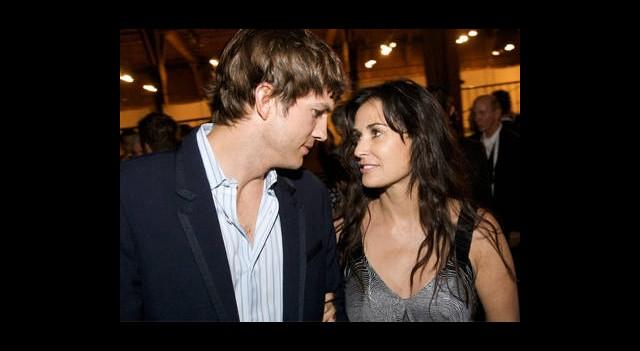 Demi Moore ve Ashton Kutcher Barıştı!