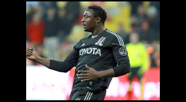 Beşiktaş'ta Eneramo Sevinci