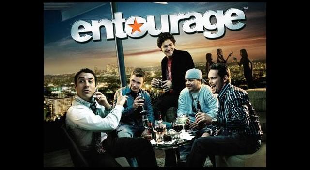 Entourage setinden ilk fotoğraflar