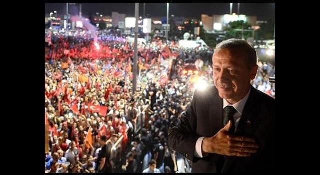 Başbakan Erdoğan'a Bir Dev Karşılama Daha!