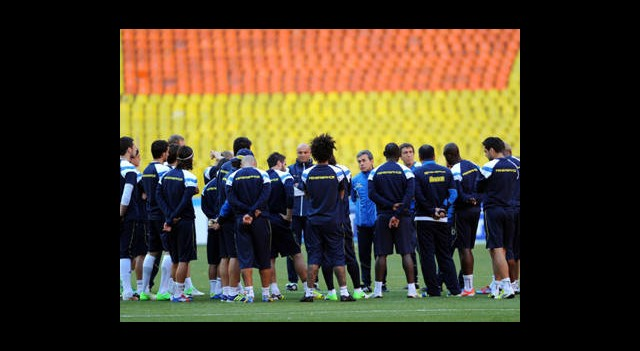 Fenerbahçe Luzhniki Stadı'nda Çalıştı