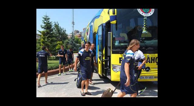Fenerbahçe Avusturya'ya 27 Kişi Gitti