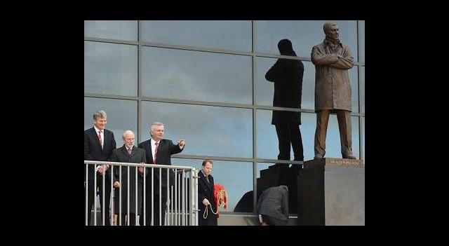 Alex Ferguson Ölümsüzleşti