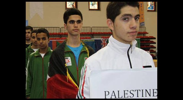 Filistinli sporcular İsrail'i tanımadı!