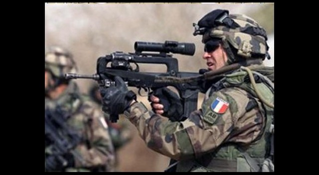 Fransa Orta Afrika'ya Girdi