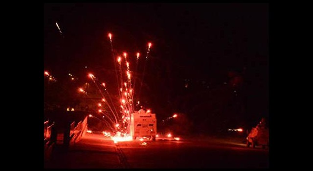 Nusaybin'de olaylı gece