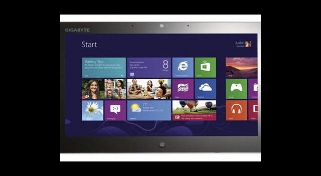Gigabyte'tan Windows 8 İşletim Sistemli Yeni Tablet