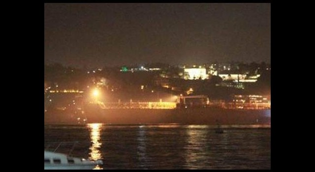 İstanbul Boğazı'nda kokutan olay