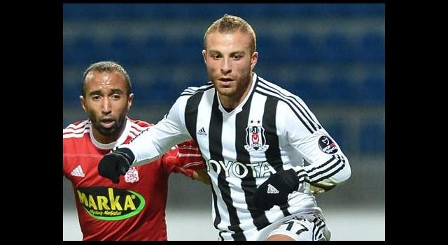 Beşiktaş'ta Gökhan Töre Sevinci