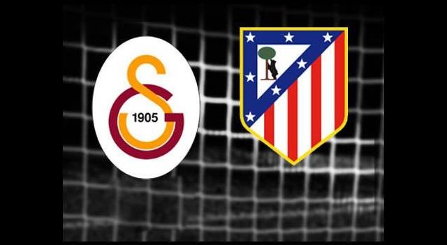 Galatasaray-Atletico Madrid (Canlı Anlatım)