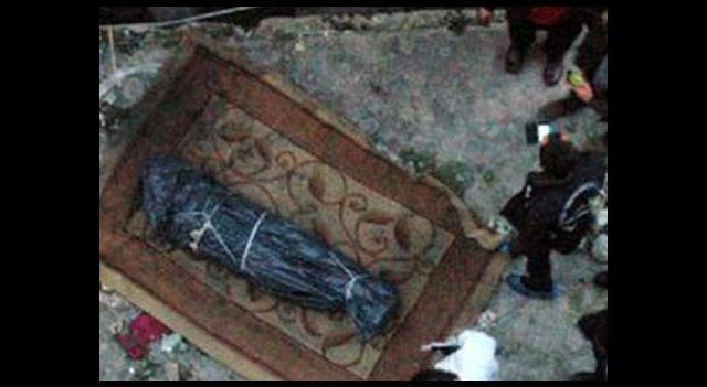 İstanbul'da halıya sarılı ceset!