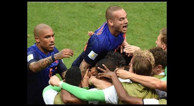 Hollanda'nın intikamı acı oldu!