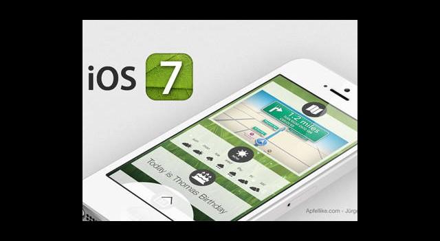 Apple iOS 7 Sürümünü Duyurdu