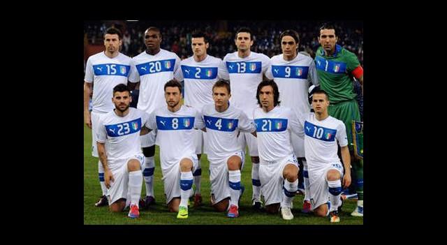 İtalya'nın EURO 2012 Kadrosu Açıklandı