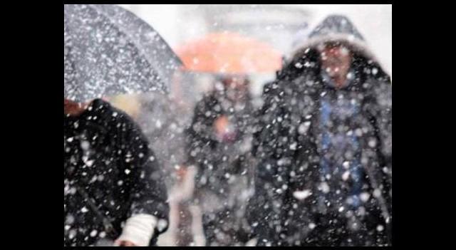 11 ilde kuvvetli kar yağışı uyarısı