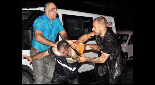 Selde belediye işçilerine saldırdılar