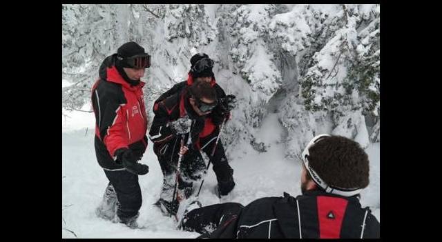 Kaybolan kayakçı bulundu