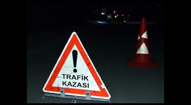 TEM otoyolunda trafik kazası