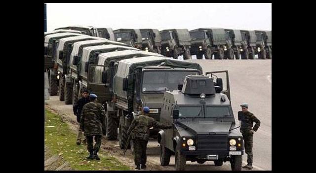 Van'da askeri konvoya mayınlı saldırı