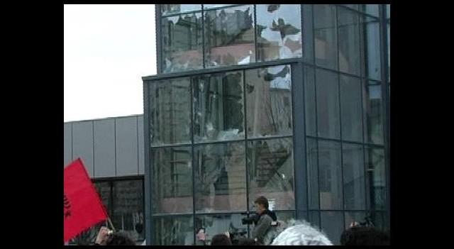 Başbakanlık binasına saldırı