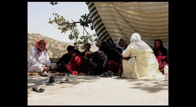 Yezidi Kürtlere IŞİD tehdidi